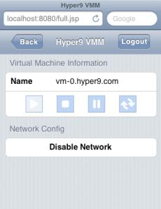 VMM no host stats