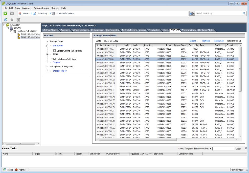 VSI 4.0 - Storage Viewer