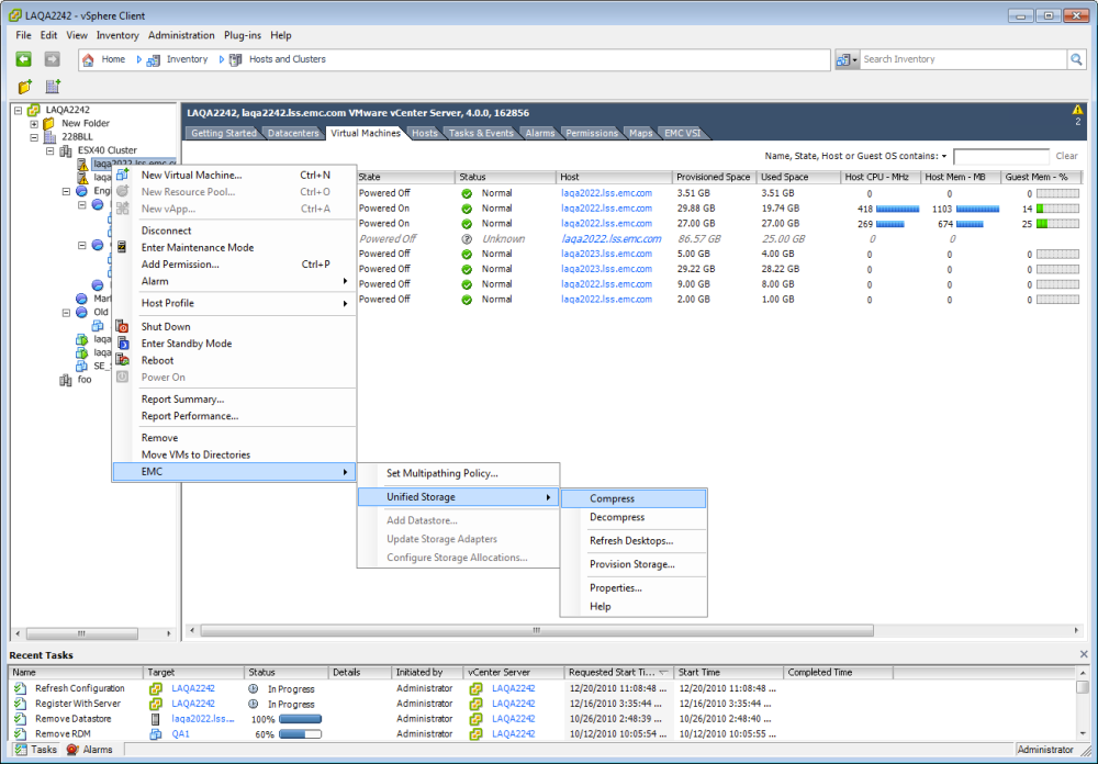 VSI 4.0 - Unified Storage Management