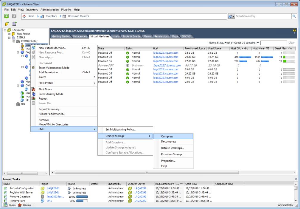 VSI 4.0 - Unified Storage Management